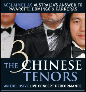 Three Chinese Tenors